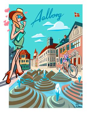 Aalborg av Timmi Mensah