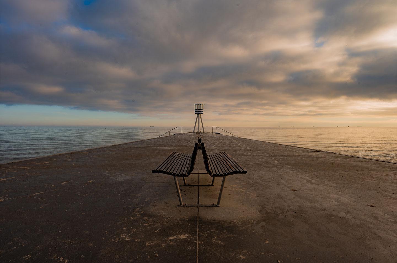 Køb Bellevue Beach av Daniel Faisst