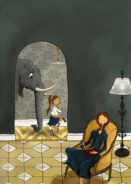 Bringing Home A Stray av Karin Lydeking