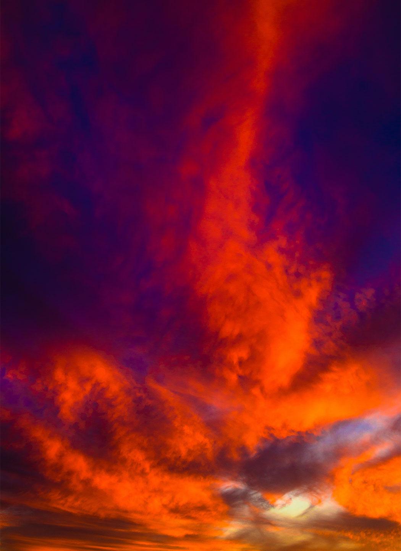 Køb Burning sky av Thomas Stubergh