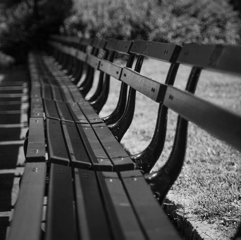 Køb Central park bench av Thomas Stubergh