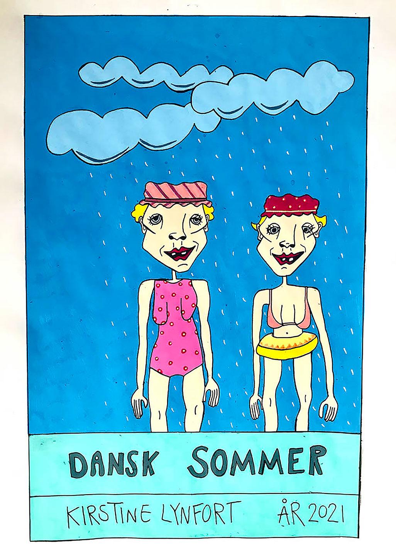 Køb Dansk Sommer av Kirstine Lynfort