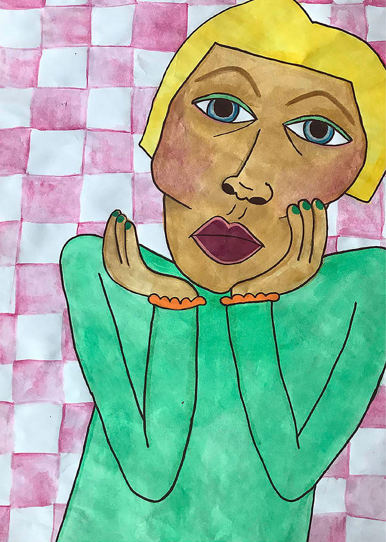 Køb Den Grønne Dame av Kirstine Lynfort