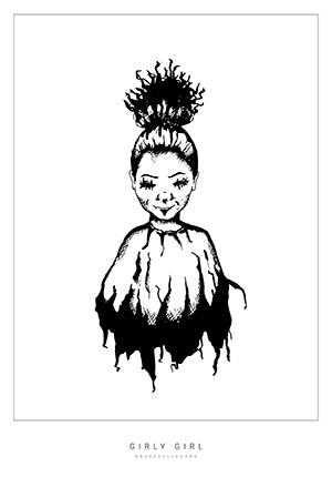 Girly Girl av Krusedulleguru