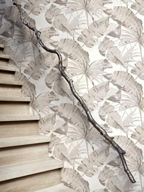 Jungle, Grey tapet av Designed for living