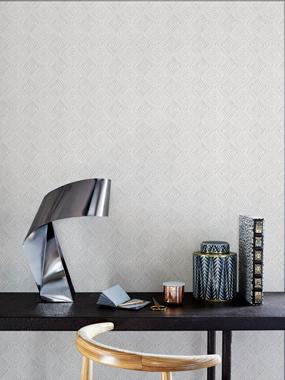 Wild Trellis, Warm white tapet av Designed for living