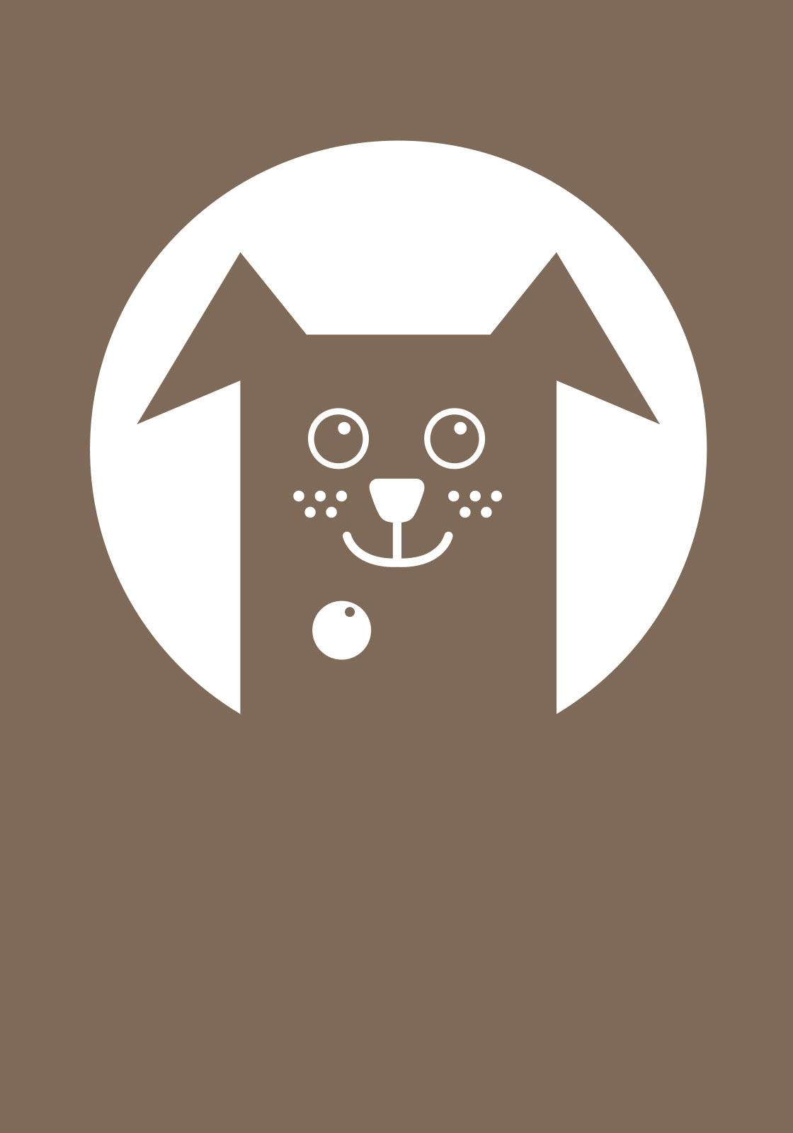 Brun hund av Ten Valleys