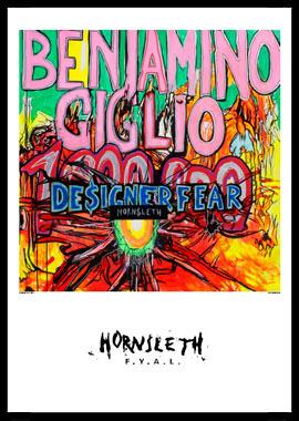 Køb Designer Fear av Hornsleth, Tryck bakom glas och ram, 50×70 cm