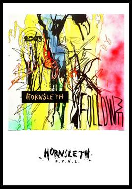 Køb Follow me av Hornsleth, Tryck bakom glas och ram, 50×70 cm