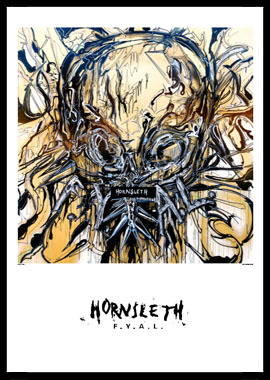 Køb Scull av Hornsleth, Tryck bakom glas och ram, 50×70 cm