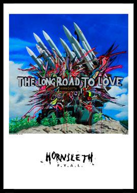 Køb The long road av Hornsleth, Tryck bakom glas och ram, 50×70 cm