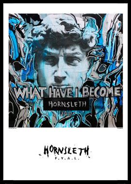 Køb What have I become av Hornsleth, Tryck bakom glas och ram, 50×70 cm