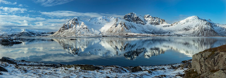 Køb Lofoten Panorama av Frank Olsen
