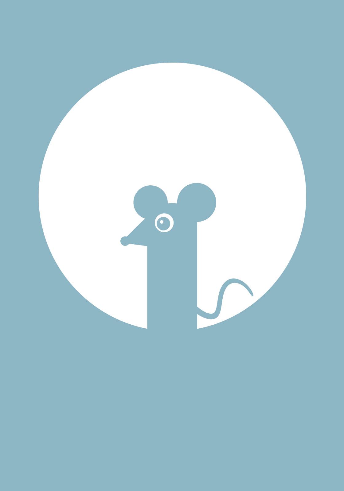 Lyseblå mus av Ten Valleys
