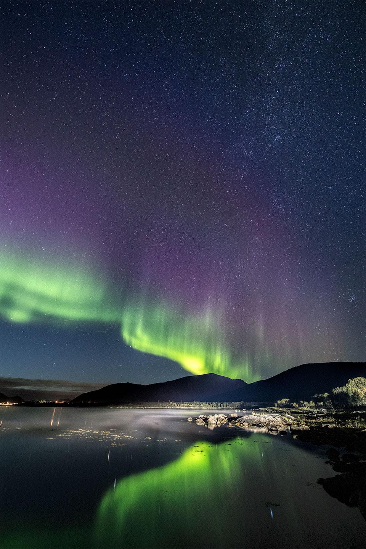 Køb Night fog av Frank Olsen