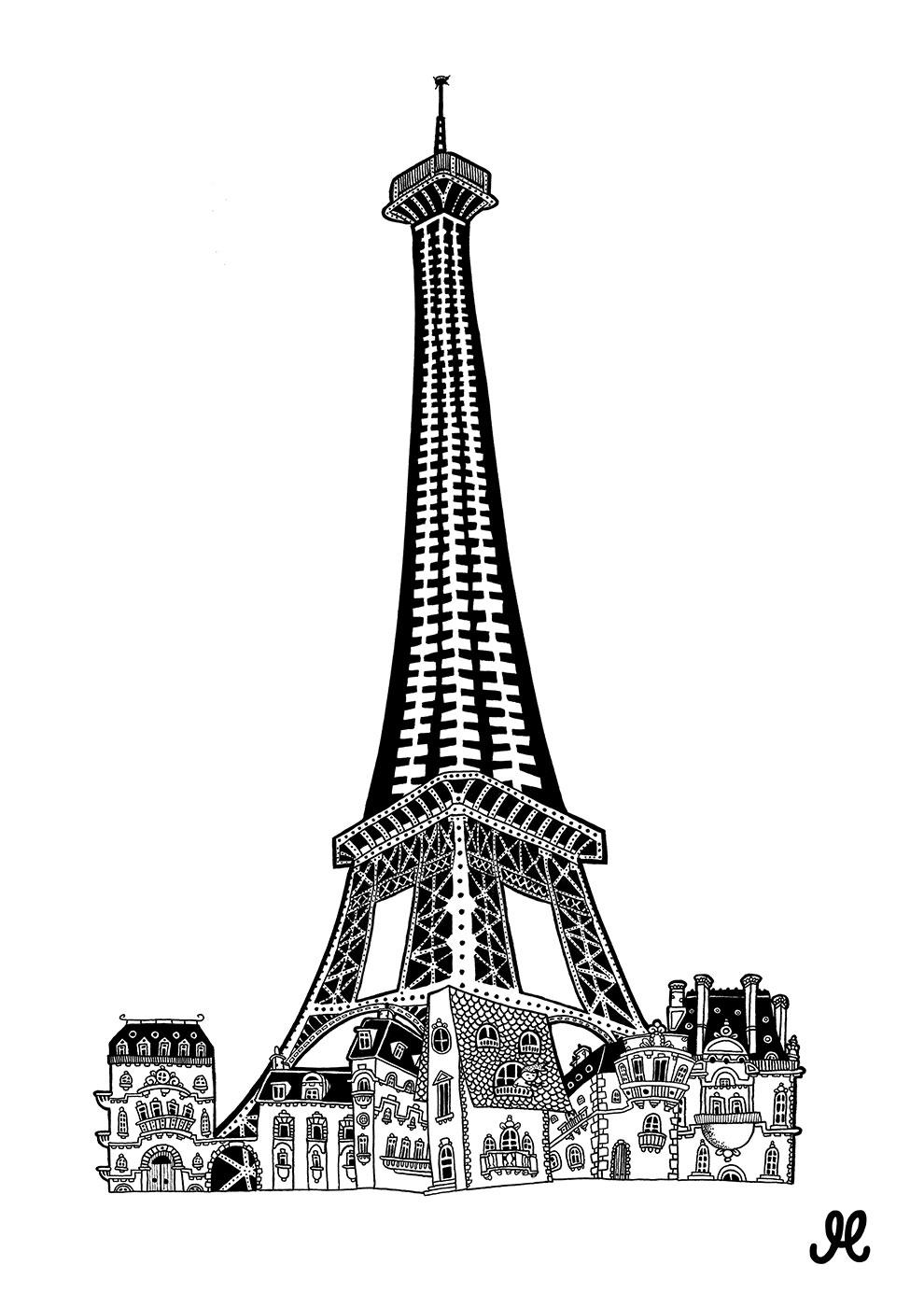 Køb Paris av Mormor