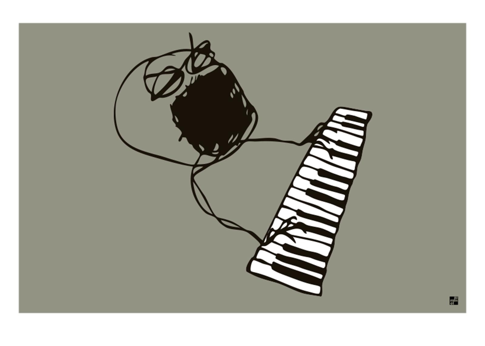 Pianomann av jummel designstudio