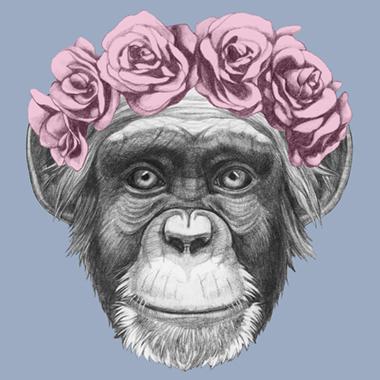 Pretty Little Monkey av Illux