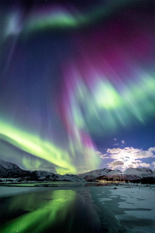 Køb Purple sky av Frank Olsen
