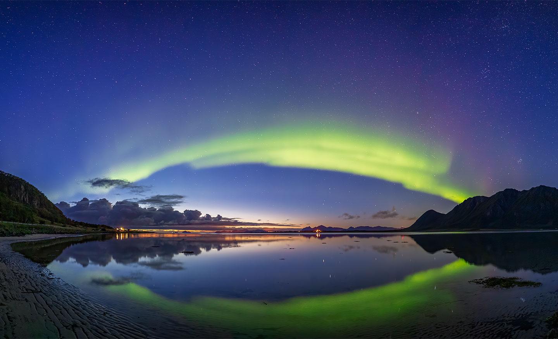 Køb Sunset Aurora av Frank Olsen