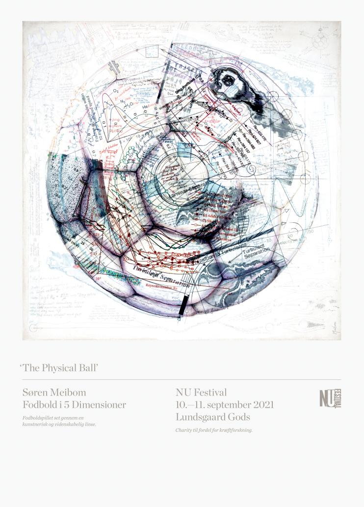 Køb The Physical Ball NU Festival poster av Søren Meibom