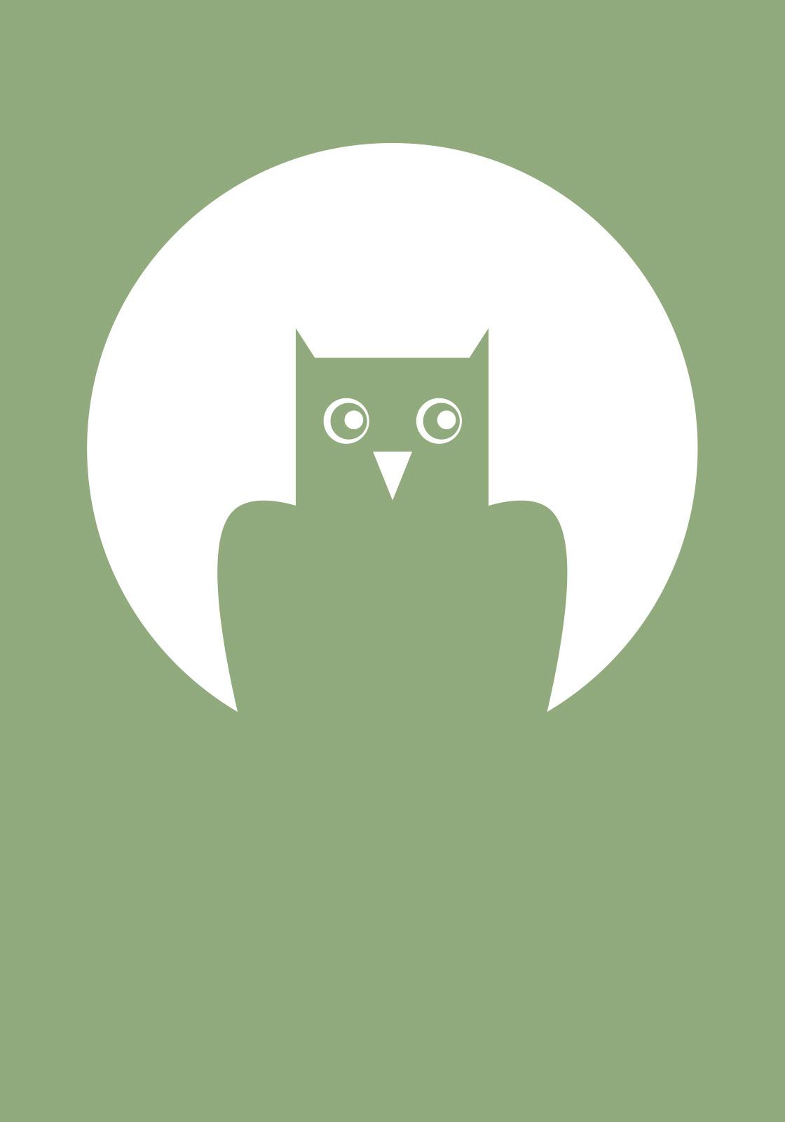 Grøn ugle av Ten Valleys