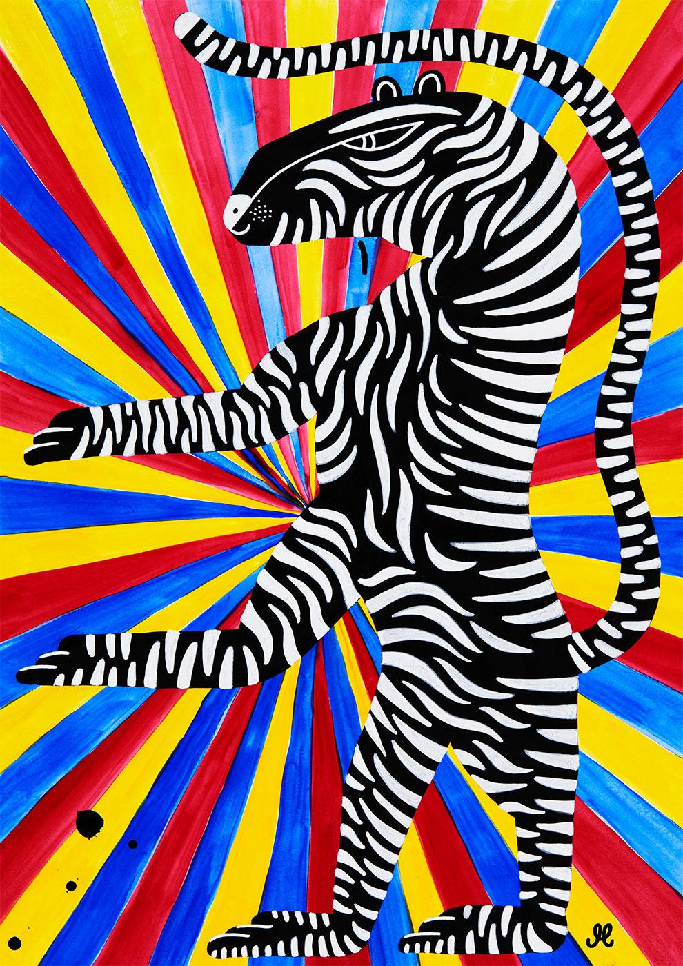 Køb Zebra av Mormor